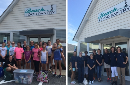 Beach Food Pantry Volunteer Groups 2016