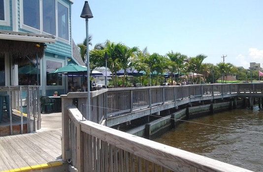Sunset Grille boardwalk & deck