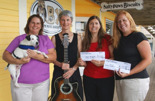 Beach Food Pantry Christan Music Series donation
